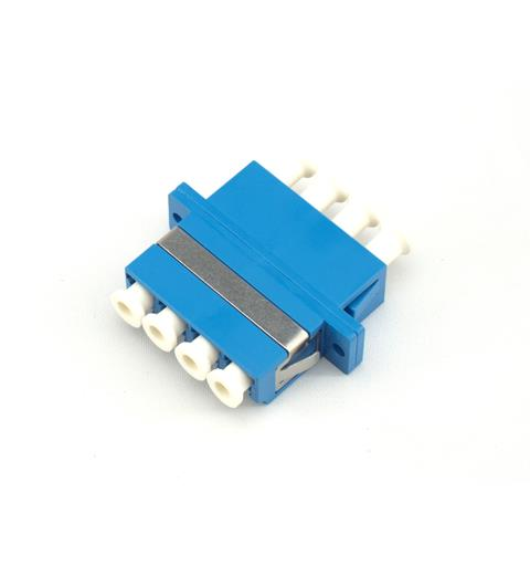 LC Quad Adapter SM Blå